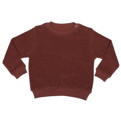 Terry sweatshirt - Maroon