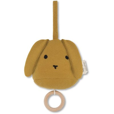 Music Mobile Rabbit mustard