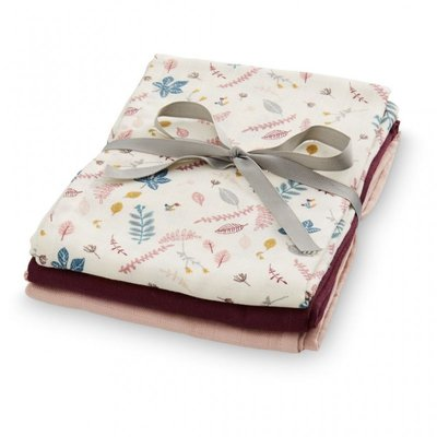 Muslin cloth , mix 3 Pack