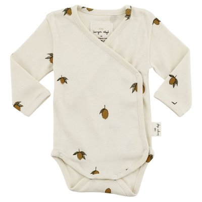 New Born Romper Lemon
