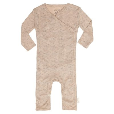 Newborn playsuit Sea Shell old rose