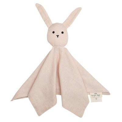 Sleepy Rabbit Knuffeldoek - Light Rose