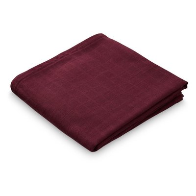 Muslin cloth Bordeaux