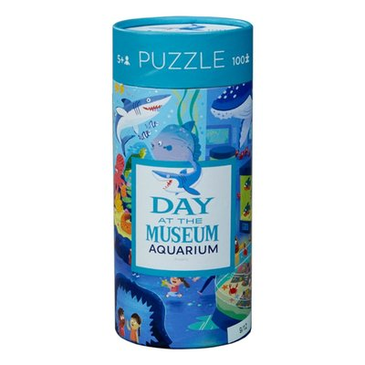 Crocodile Creek - Puzzel Day at the Museum/Aquarium - 72 pcs
