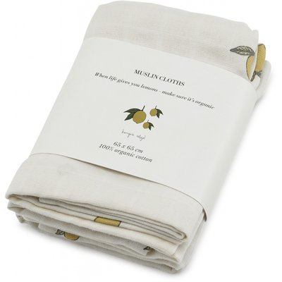 Muslin Cloth Lemon
